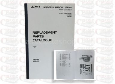 Ariel Leader -Arrow Parts Book