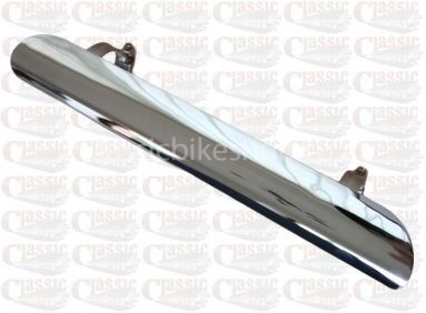 12'' Inch Chrome Exhaust Heat Shield