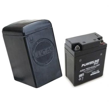 Lucas Battery Case with 6V Battery