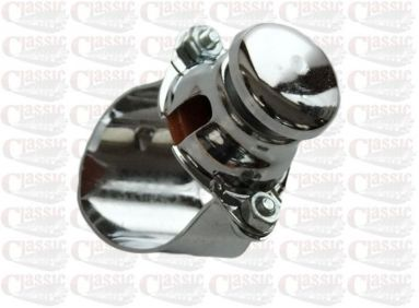 Chrome Horn/  Stop Button 7/8""