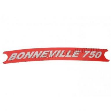 Triumph Transfer Vermilion 'Bonneville  750' OEM: 60-4148