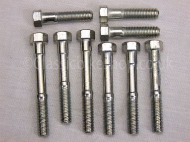 BSA A7/A10 Alloy Head Bolt Set