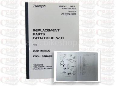 Triumph 1962 T20 Parts Book