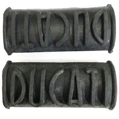 Ducati singles footrest rubbers