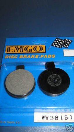 Norton Commando Disc Pads