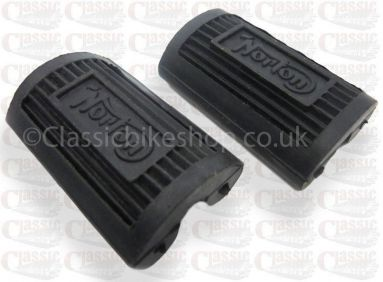 Norton Footrest Rubbers Bycycle Pedal Type