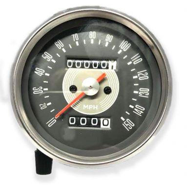 Speedometer Grey Face (MPH) Ratio 1.25 - 1/ 15 - 12
