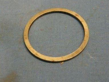 Triumph pre unit fork oil seal retaining washer 97-0445