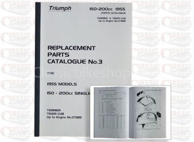 Triumph 1955 T20 Parts Book