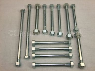 Triumph Pre-Unit 1954-59 Engine To Frame Bolt Set