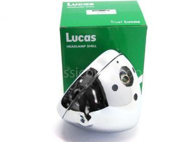 Lucas 7 inch chrome shell and rim