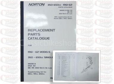 Norton 1961-62 50 ES2 50 88 99 650 Std