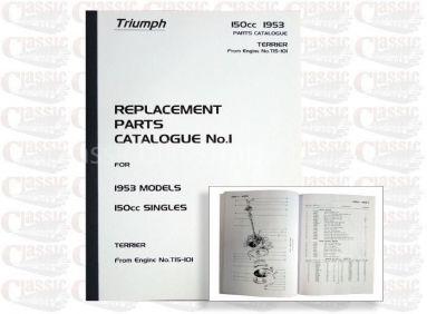 Triumph 1953 T20 Parts Book
