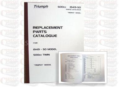 Triumph 1949-50 p/u Parts Book