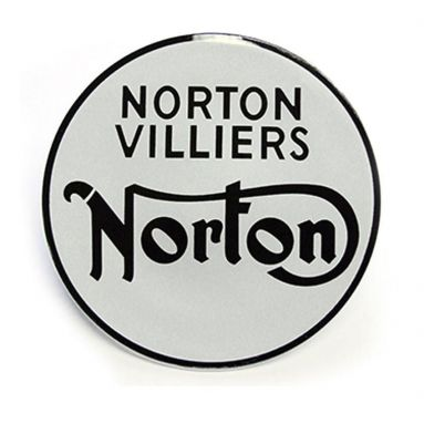 Norton Commando fastback 750xx tank badge