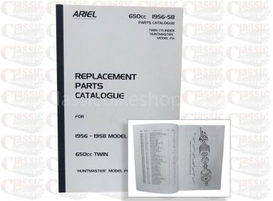 Ariel 1956-58 FH Twin Parts Book
