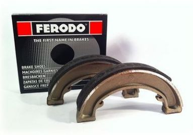 Ferodo brake shoes Triumph 7 inch full width