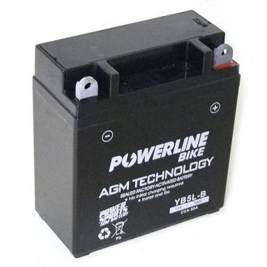 12V 5AH AGM Battery YB5L-B
