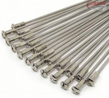 Spoke set BSA, Triumph, B31, B33, A7, A50, A10, A65, 3TA, T21