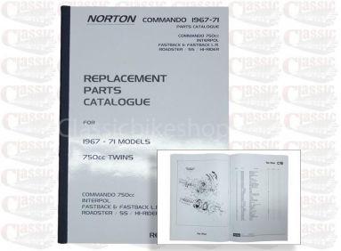 Norton 1969-71 750 Commando Parts Book