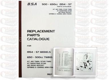 BSA 1954-1957 A10 Parts Book