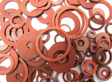 Assorted Fibre Washers (25 sizes)