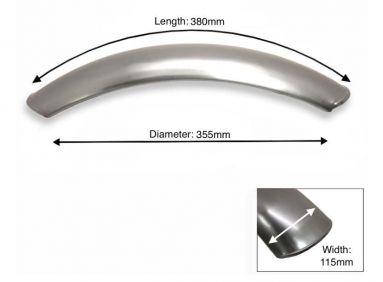 Plain Steel Front Mudguard