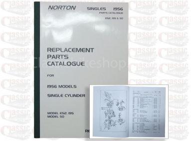 Norton 1956 ES2, 19S & 50 Parts Book