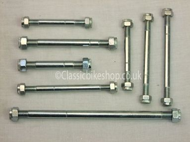 Triumph T100 1970 Engine to frame bolt set