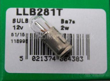 Lucas Bulb 12V 2W BA7S.
