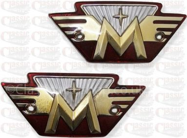 Matchless tank badges