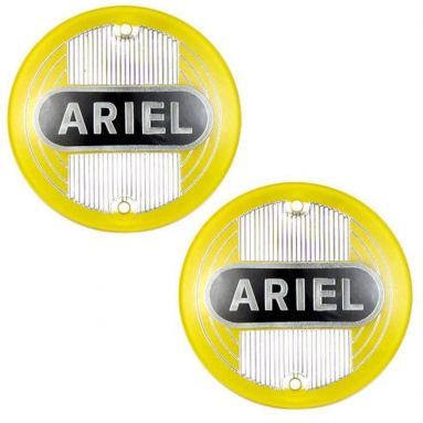 Ariel tank badges, singles, twins, square 4 models