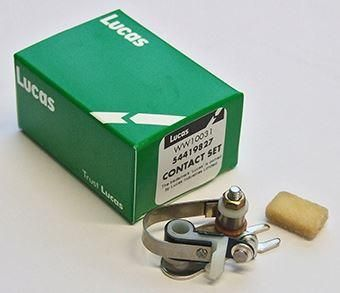 Lucas Contact Set BSA/ Norton/ Triumph Twins 1968-72 6.C.A.