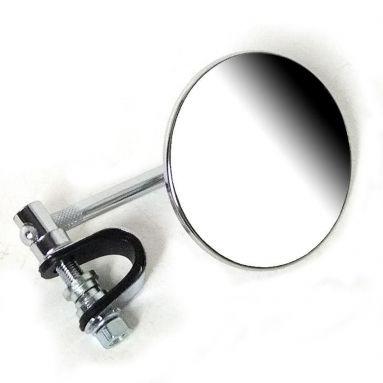 Clamp-on Mirror 3.3/4'' Stem Chrome