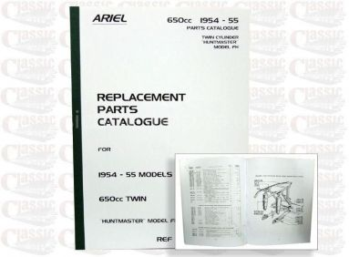 Ariel 1954/55 FH Twin Parts Book