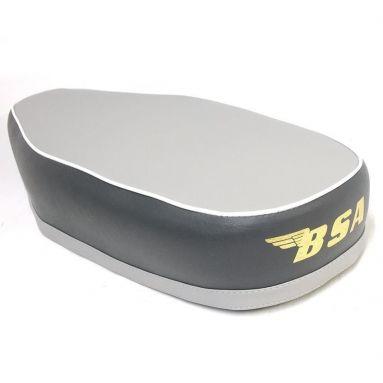 BSA B40SS Seat, Grey