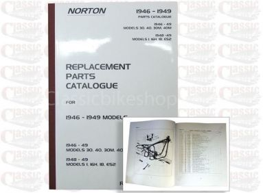 Norton 1946-49 1/ 16H/ 18/ ES2/ 30/ 40/ 30M/ 4