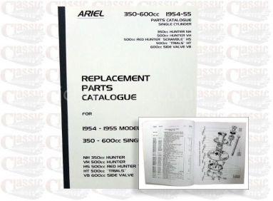 Ariel 1954/55 Singles Parts Book