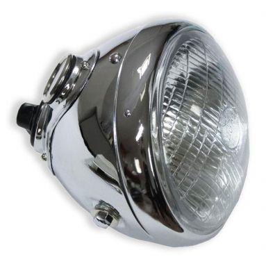 Lucas 7 inch chrome headlight