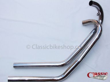 BSA A10 Swept Back Exhaust Pipes