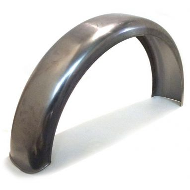 18''/19'' Rear Plain Steel Mudguard 'D' Section Profile