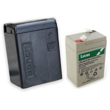 Lucas 'King Of The Road' Battery Case with 6V Dry Cell