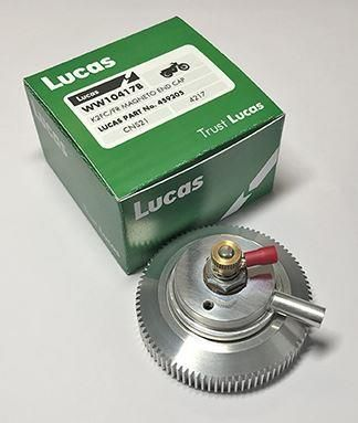Lucas K2FC/ F2R Magneto End Cap With Breather