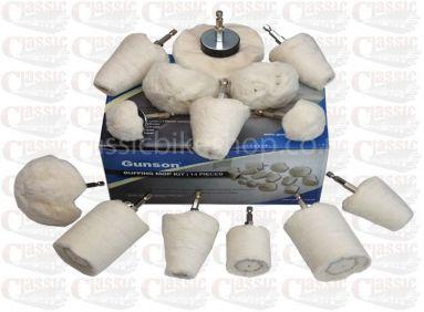 14 Piece Buffing Mop Kit