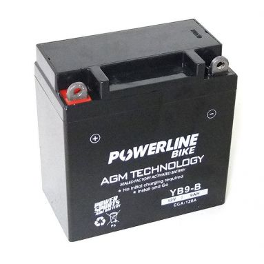 12V 9AH AGM Battery YB9-B