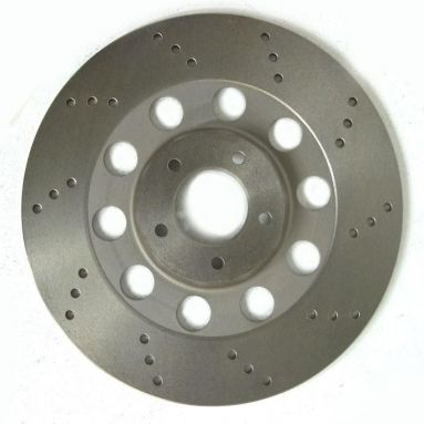 Norton Commando Brake Disk Lightened Drilled Left Hand Disc
