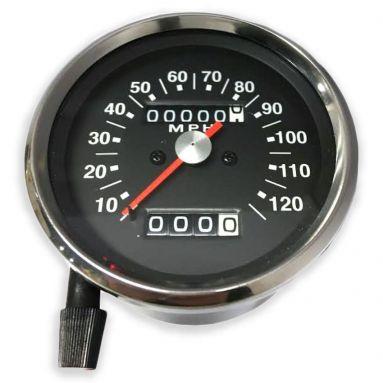 Speedometer Black Face (MPH) Ratio 2 - 1