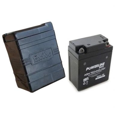 Exide Style Battery Case with 6V Battery