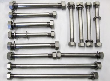 Triumph Pre-Unit Engine to Frame Stainless Bolt Set