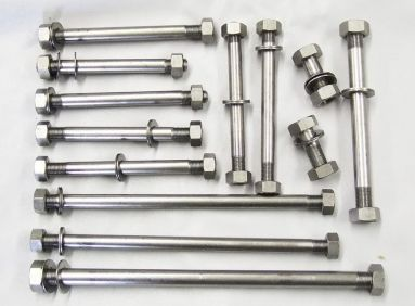 Triumph Pre-Unit T110 T120 TR6 Engine to Frame Stainless Bolt Set